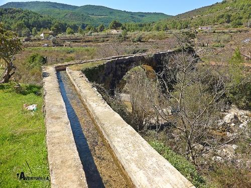 Parte alta del acueducto