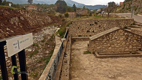 Fuente en Castell de Castells