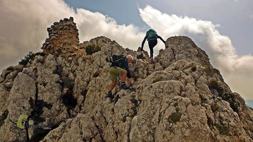 Trepadas en la roca