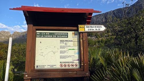PR-CV145 (Senderos de la Sierra de Segària)