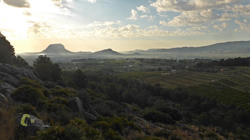 Vistas desde la sierra Segària