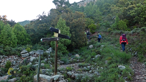 senda hacia la ermita Magdalena