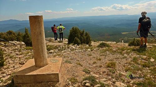 El pico Peñarroya en Fuentes de Rubielos