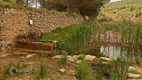 Fuente en la sierra de Gudar