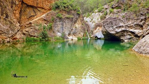 Cascada en el Alto Mijares