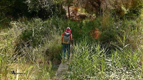 Cruzar el río Martín