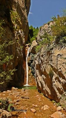 cascada en la sierra del Cadí