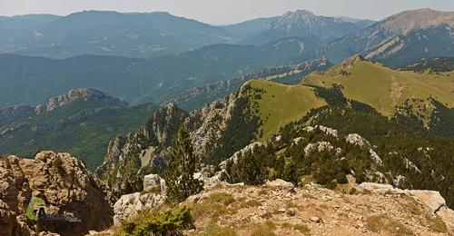 Vistas desde Penyas Altas de Moixeró