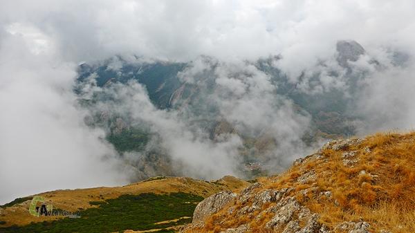 Vistas desde la cima del Pico Hato
