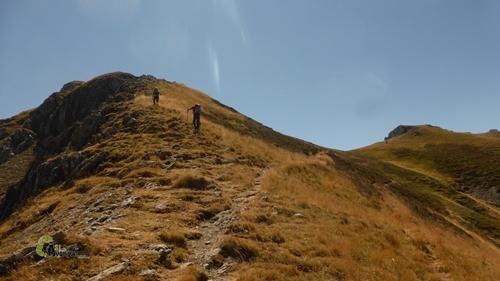 Subida al pico Cervunal