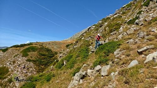Bajada por el valle de Valverde